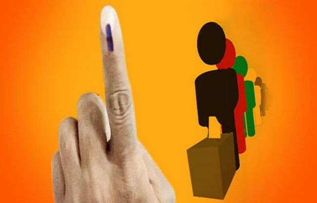 delhi,  57 percent voting, assembly election
