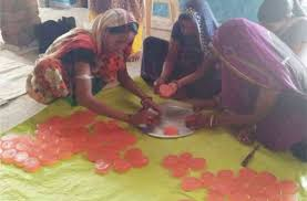 syopur, Women ,becoming self-reliant ,through self-help group