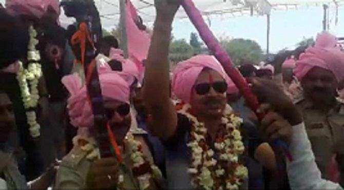 sehore, Collector and SP, lashed out , beat of drums,Bhagoria Fair