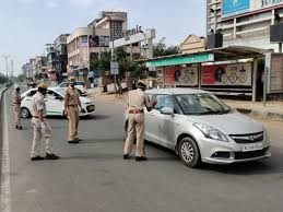 bhopal,  During curfew, police strictly , Kamal Nath, political advisor, Miglani Home Isolation