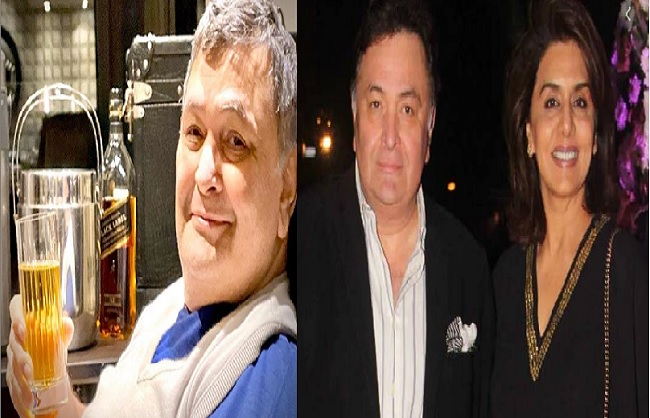 mumbai, Neetu Kapoor, shared happy picture , Rishi Kapoor