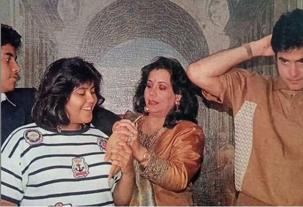 mumbai, Ekta Kapoor, shared , throwback photo, family on Insta