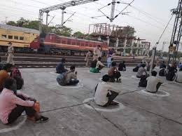 bhopal, Special train,buses ,reached Vidisha , 1200 laborers, Kerala