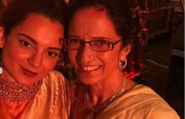 mumbai, Queen Kangana Ranaut, Bollywood, wrote emotional poem,mother , Mother
