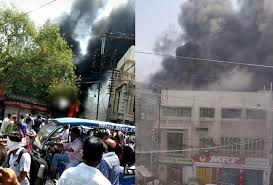 gwalior, Fierce fire, three-storey building, kills seven, including three children