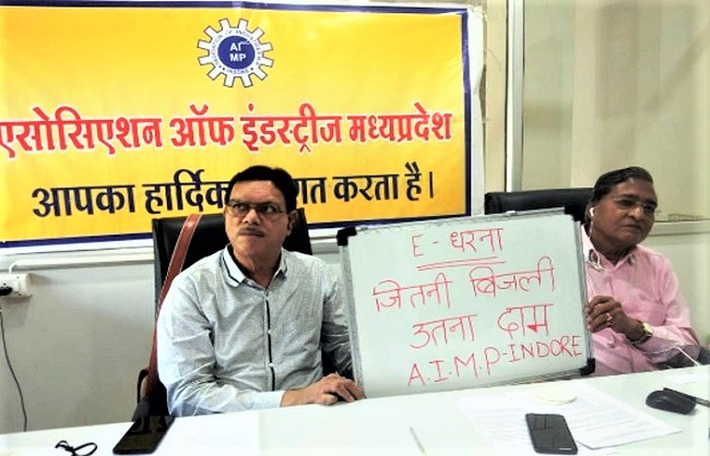 bhopal, indore, More than 5000 industrialists, Madhya Pradesh ,staged online sit-in
