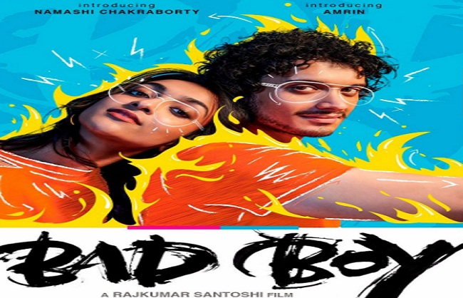 mumbai,First Look poster, Namashi Chakraborty, Amreen Qureshi, Bad Boy released