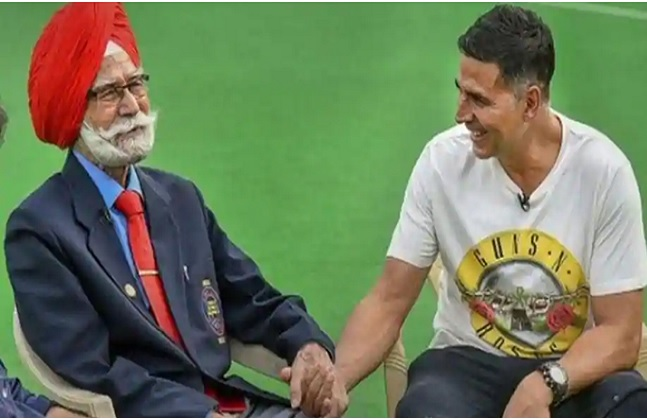 mumbai, Akshay Kumar, expressed grief ,death , Balbir Singh,hockey legend