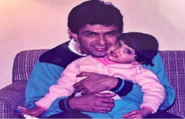 mumbai, Deepika shares, throwback photo , birthday, Papa Prakash Padukone