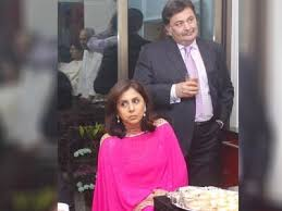 mumbai, Neetu Kapoor, shares, throwback picture , Rishi Kapoor, wrote-