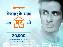mumbai, Sonu Sood ,arrange stay, 20 thousand migrant laborers