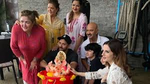 mumbai, Hrithik Roshan, immersed ,eco-friendly Ganesh ,Suzanne Khan