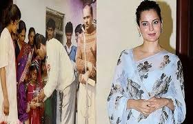 mumbai,Kangana Ranaut, shared picture,school