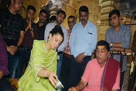 mumbai, Kangana shared, picture ,Somnath Temple