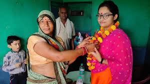 shivpuri, Saroj Jha, becomes District Vice President, Women