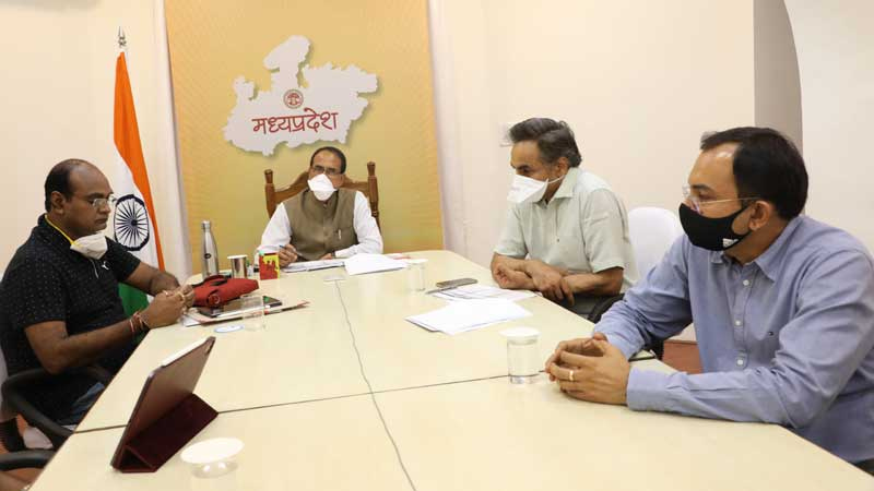 bhopal, Corona recovery rate ,over 80 percent, MP, Chief Minister reviews