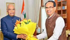 bhopal,CM Shivraj, greets President Ramnath Kovind, his birthday
