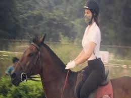 mumbai, Jacqueline Fernandes,photo of horse riding ,goes viral , social media