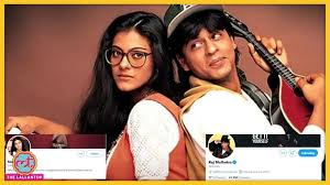 mumbai, Shahrukh Khan,Kajol change , names on Twitter, after 25 years