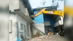 indore, Administration bulldozer, adulteration factory