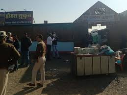 Indore, Administration bulldozer, illegal liquor serving ,dhabas and hotels