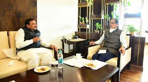 bhopal,Minister Bhupendra Singh, discussed tea , Chief Minister