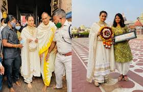 mumbai,Kangana Ranaut ,visited Lord Jagannath