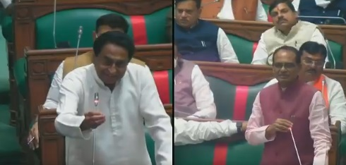 bhopal, Congress calls rules, assembly proceedings viral, violating rules