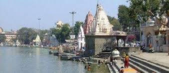 ujjain, Shipra river ,becomes geological movement, Triveni area, water sprung