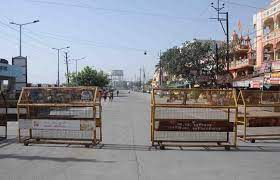 bhopal, Total lockdown, 12 cities of Madhya Pradesh, silence on the roads